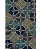 RugStudio presents Rugstudio Sample Sale 88099R Dark Lavender Gray Hand-Tufted, Best Quality Area Rug