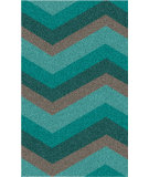 RugStudio presents Surya Cosmopolitan COS-9218 Neutral / Green / Blue Hand-Tufted, Best Quality Area Rug