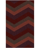 RugStudio presents Surya Cosmopolitan COS-9219 Neutral / Violet (purple) / Red Area Rug