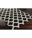 RugStudio presents Surya Cosmopolitan Cos-9237 Black Hand-Tufted, Good Quality Area Rug