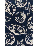 RugStudio presents Surya Cosmopolitan Cos-9256 Cobalt Hand-Tufted, Good Quality Area Rug