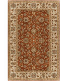RugStudio presents Surya Crowne CRN-6002 Burgundy Hand-Tufted, Best Quality Area Rug