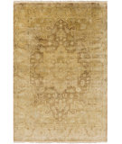 RugStudio presents Surya Cheshire Csh-6002 Gold Hand-Knotted, Good Quality Area Rug