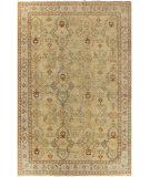 RugStudio presents Surya Castle CSL-6000 Neutral / Green Hand-Knotted, Good Quality Area Rug