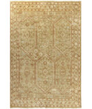 RugStudio presents Surya Castle CSL-6001 Neutral / Green Hand-Knotted, Good Quality Area Rug