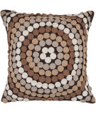 RugStudio presents Surya Pillows CW-055 Mocha/Taupe