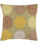 RugStudio presents Surya Pillows CW-058 Mocha