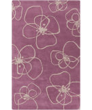 RugStudio presents Surya Decorativa Dcr-4002 Eggplant Hand-Tufted, Good Quality Area Rug