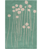 RugStudio presents Surya Decorativa Dcr-4005 Green Hand-Tufted, Good Quality Area Rug