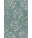 RugStudio presents Surya Decorativa Dcr-4010 Teal Hand-Tufted, Good Quality Area Rug