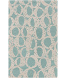 RugStudio presents Surya Decorativa Dcr-4013 Teal Hand-Tufted, Good Quality Area Rug