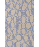 RugStudio presents Surya Decorativa Dcr-4014 Blue Hand-Tufted, Good Quality Area Rug