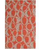 RugStudio presents Surya Decorativa Dcr-4015 Rust Hand-Tufted, Good Quality Area Rug