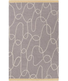 RugStudio presents Surya Decorativa Dcr-4021 Light Gray Hand-Tufted, Good Quality Area Rug
