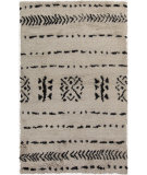 RugStudio presents Surya Denali DEN-5000 Black Hand-Knotted, Good Quality Area Rug