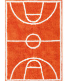 RugStudio presents Surya Dunk Dnk-5000 Burnt Orange Hand-Tufted, Best Quality Area Rug