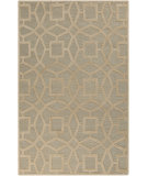 RugStudio presents Rugstudio Sample Sale 88165R Sky Gray Hand-Tufted, Good Quality Area Rug