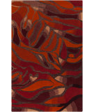 RugStudio presents Rugstudio Sample Sale 88134R Wine Hand-Tufted, Good Quality Area Rug