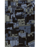 RugStudio presents Surya Destinations DTN-59 Charcoal Gray Hand-Tufted, Good Quality Area Rug