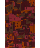 RugStudio presents Surya Destinations DTN-61 Rosewood Hand-Tufted, Good Quality Area Rug