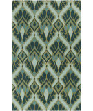 RugStudio presents Surya Destinations DTN-73 Teal Hand-Tufted, Good Quality Area Rug