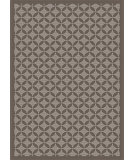 RugStudio presents Surya Elements ELT-1016 Charcoal Flat-Woven Area Rug