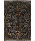 RugStudio presents Surya Empress Ems-7000 Black Hand-Knotted, Good Quality Area Rug