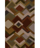 RugStudio presents Surya Envelopes ENV-5002 Neutral / Green / Red Area Rug