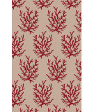 RugStudio presents Surya Escape ESP-3114 Neutral / Red Area Rug