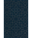 RugStudio presents Rugstudio Sample Sale 88195R Marine Blue Hand-Tufted, Good Quality Area Rug