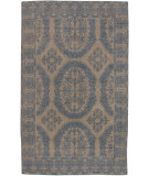 RugStudio presents Surya Everest Eve-3111 Tones Taupe-Blue Hand-Knotted, Good Quality Area Rug