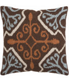 RugStudio presents Surya Pillows FA-002 Chocolate