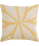 RugStudio presents Surya Pillows FA-012 Gold/Ivory