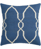 RugStudio presents Surya Pillows FA-021 Blue/Ivory