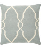 RugStudio presents Surya Pillows FA-022 Slate/Ivory