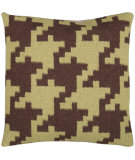 RugStudio presents Surya Pillows FA-025 Chocolate/Olive