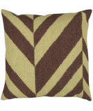 RugStudio presents Surya Pillows FA-031 Chocolate/ Olive