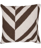RugStudio presents Surya Pillows FA-032 Chocolate/Ivory