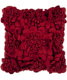 RugStudio presents Surya Pillows FA-084 Burgundy