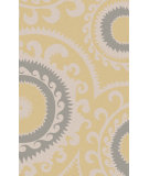 RugStudio presents Rugstudio Sample Sale 106368R Gold Flat-Woven Area Rug