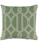RugStudio presents Surya Pillows FF-003 Lime/Gray