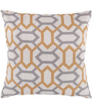 RugStudio presents Surya Pillows FF-009 Gold/Gray