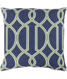 RugStudio presents Surya Pillows FF-017 Cobalt/Forest