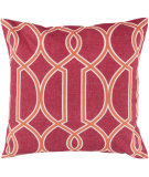 RugStudio presents Surya Pillows FF-018 Hot Pink/Tangerine