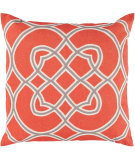 RugStudio presents Surya Pillows FF-020 Poppy/Gray
