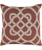 RugStudio presents Surya Pillows FF-021 Rust/Beige