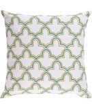 RugStudio presents Surya Pillows FF-023 Teal/Lime