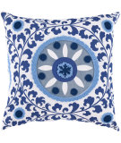 RugStudio presents Surya Pillows FF-026 Cobalt/Slate