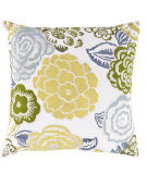 RugStudio presents Surya Pillows FF-027 Lime/Multi