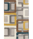 RugStudio presents Surya Forum Fm-7159 Teal Blue Hand-Tufted, Best Quality Area Rug